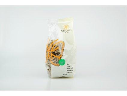 Těstoviny žitné celozrnné BIO - vřetena - Natural 300g