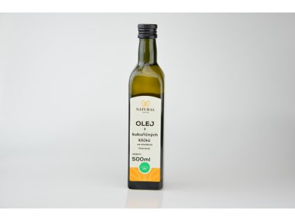 Olej z kukuřičných klíčků za studena lisovaný - Natural 500ml