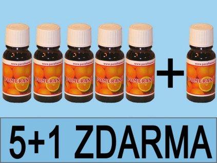 Vonný olej pomeranč 5+1 ZDARMA = 6ks celkem
