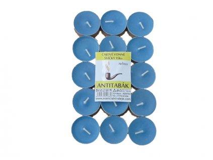 Čajové svíčky RENTEX vůně antitabák 15ks