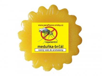 Vonný vosk do aromalamp repelentní meduňka - brčál