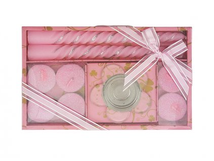 Vánoční dárková sada R87 růžová AKCE