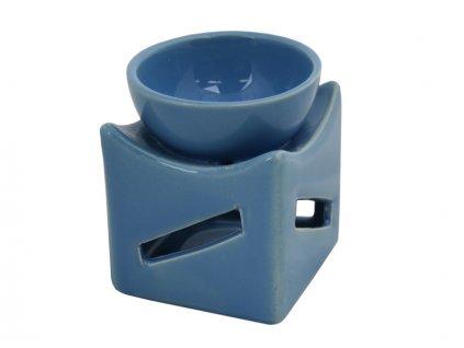 Aromalampa keramická č.44 modrá AKCE