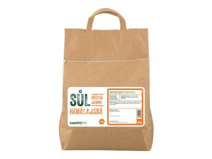 Sůl himálajská růžová jemná 5 kg COUNTRY LIFE