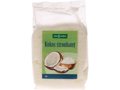 Bio kokos strouhaný bio*nebio 200 g