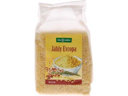 Bio jáhly EVROPA bio*nebio 500 g