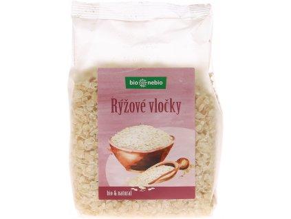 Bio rýžové vločky natural bio*nebio 250 g