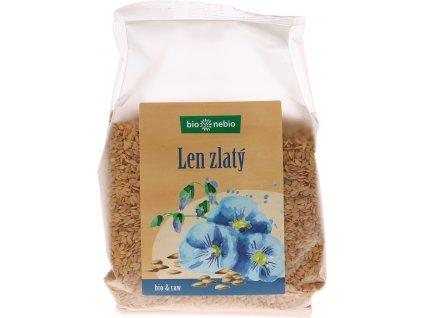 Bio lněné semínko zlaté bio*nebio 300 g