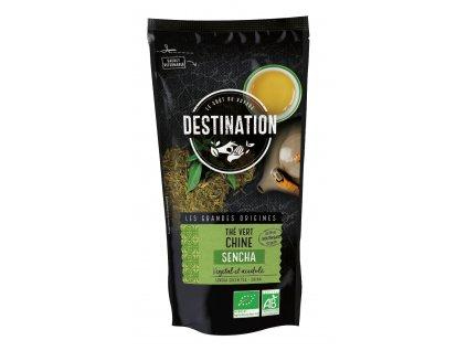 Bio zelený čaj Sencha sypaný 80 g