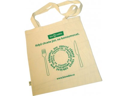 Taška z fair trade biobavlny bio*nebio