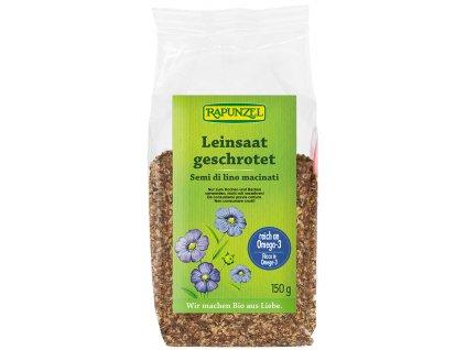 Bio lněné semínko drcené RAPUNZEL 150 g