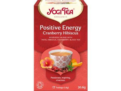 Bio Positivní energie Yogi Tea 17 x 1,8 g