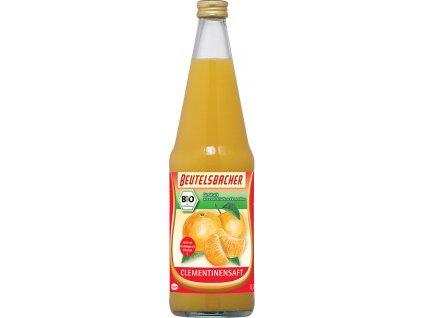 Bio klementinková šťáva 100% Beutelsbacher 0,7 l
