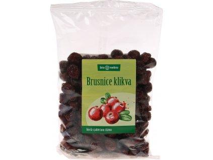 Bio brusnice klikva s jablečnou šťávou bio*nebio 400 g