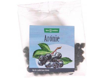 Bio sušená arónie s jablečnou šťávou bio*nebio 100 g