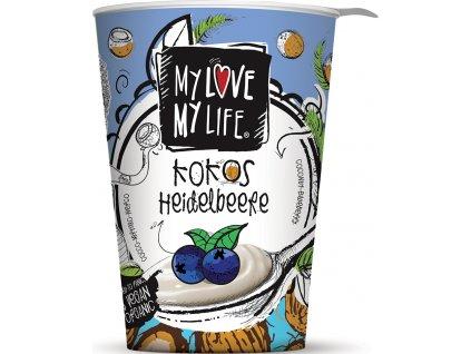 Bio zakysaný kokosový Borůvka My Love My Life 180 g