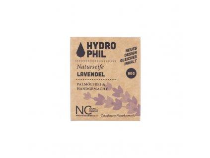 Hydrophil Tuhé mýdlo - levandule (80 g)