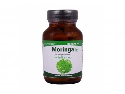 Moringa - doplněk stravy - Herbal Hills 45 veg. kapslí (energie a zvyšuje odolnost organismu)