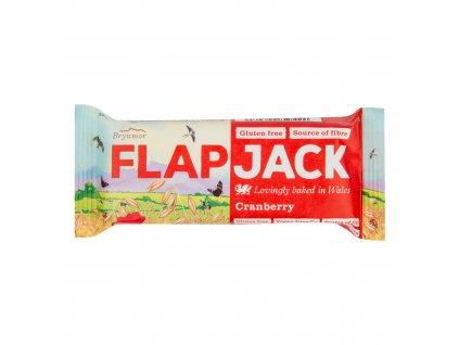 Flapjack ovesný brusinka bezlepkový 80 g WHOLEBAKE