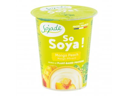 SOJADE bifidus mango-broskev 125 g BIO