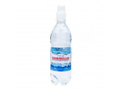 Voda pramenitá neperlivá sport cup 500 ml GRABMÜLLER