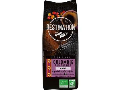 Bio káva mletá Kolumbie Destination 250 g