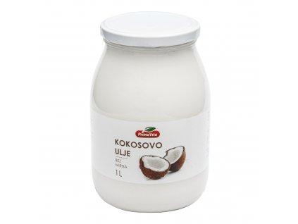 Olej kokosový dezodorizovaný 1 l PRIMAVITA