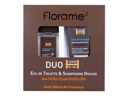 Sada dárková toaletní voda 100 ml a sprchový gel 200 ml pro muže L´eau aromatique BIO FLORAME