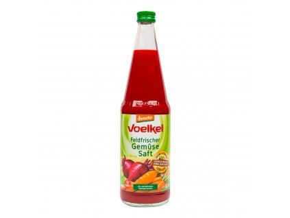 Šťáva mrkev-řepa-celer 700 ml BIO VOELKEL