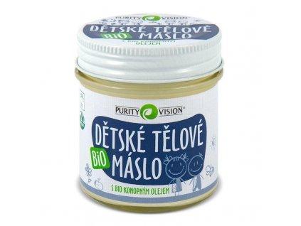 PURITY VISION Bio Dětské tělové máslo 120 ml