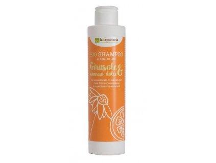 laSaponaria Šampon se slunečnicí a sladkým pomerančem Maxi (1 l)