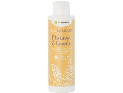 laSaponaria Kondicionér s moringou a citrónem BIO (150 ml)