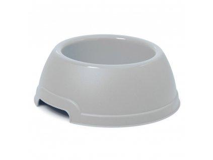 Plastová miska s protiskluzem Argi - žlutá - 1300 ml