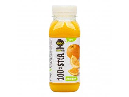 Šťáva 100% pomeranč 250 ml UGO