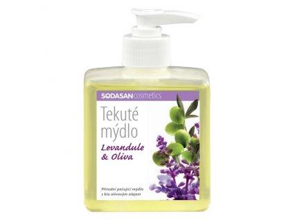 Mýdlo tekuté Levandule - Oliva 300 ml SODASAN