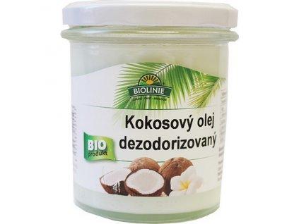 Olej kokosový dezodorizovaný 240 g BIO BIOLINIE