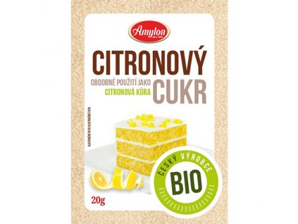 Cukr citrónový 20 g BIO AMYLON