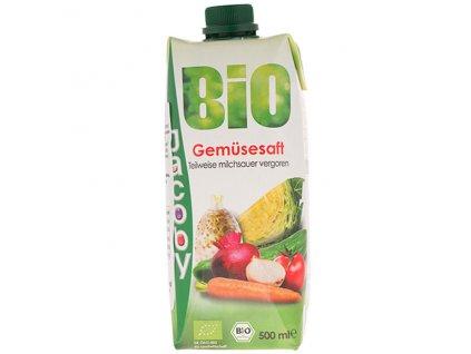 Šťáva zeleninový koktejl 500 ml BIO JACOBY