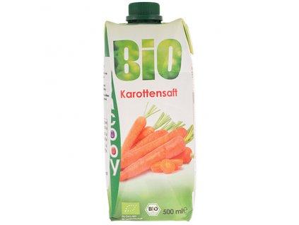 Šťáva mrkvová 500 ml BIO JACOBY