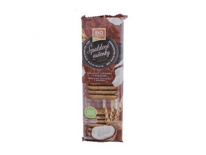 Sušenky špaldové s kokosem 100 g BIO BIOHARMONIE