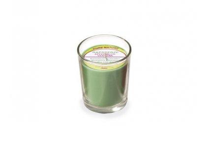 Stuwa Svíčka ve skle zelená (65 g) - jablko a verbena