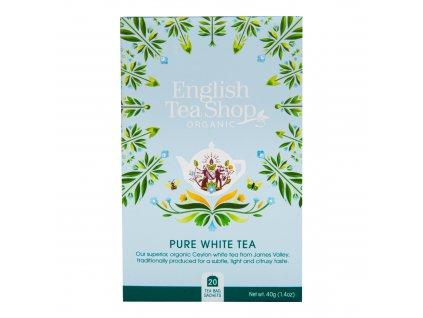 Čaj Bílý 20 sáčků BIO ENGLISH TEA SHOP