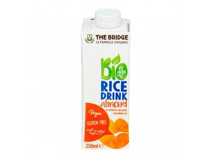 Nápoj rýžovo-mandlový 250 ml BIO THE BRIDGE