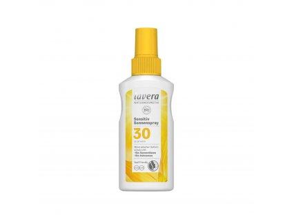 Opalovací sprej Sensitiv SPF 30 BIO 100 ml Lavera