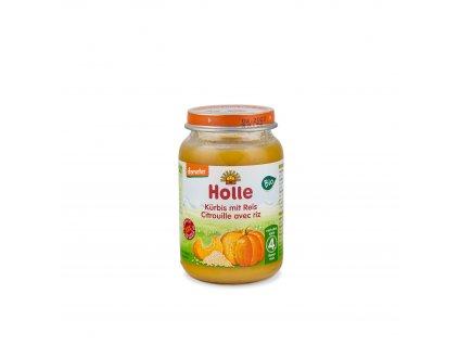 Dětská výživa Dýně s rýží BIO 190 g Holle