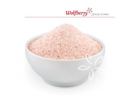 Himalájská sůl růžová jemná 25 kg Wolfberry
