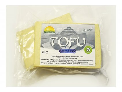 Tofu Natural - ALL NATURAL cca 200g