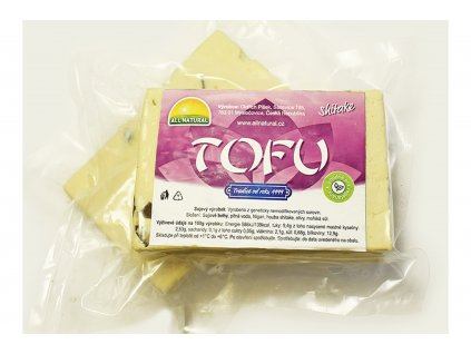 Tofu Shitake - ALL NATURAL cca 200g