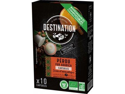 Bio kávové kapsle Peru Destination 10 ks