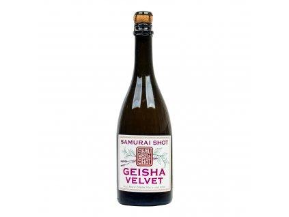 Nápoj Geisha Velvet 750 ml SAMURAI SHOT